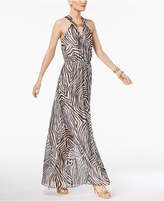 MICHAEL Michael Kors Printed Hardware Maxi Dress