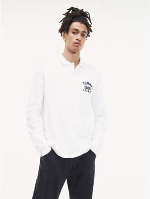 Tommy Hilfiger Logo Long Sleeve Polo