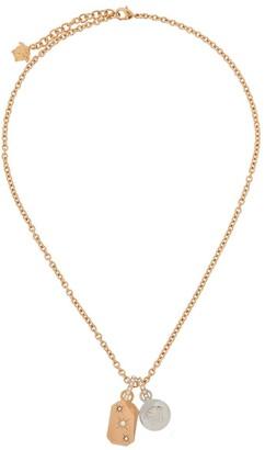 Versace Medusa charm necklace
