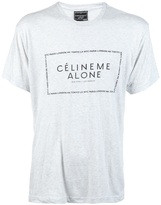 Celine Nycparis me alone t-shirt