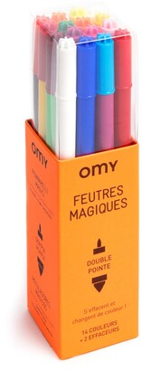 OMY Set of 16 Double-Point Magic Markers