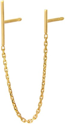Irena Chmura Jewellery Chained Lines Double Earring Single