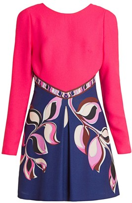 Emilio Pucci Cady Mini Dress