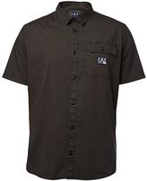 Fox Black Vintage Brig Short-Sleeve Button-Up