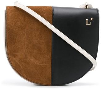 L'Autre Chose Colour-Block Shoulder Bag