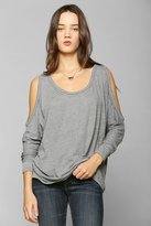 Urban Outfitters Mouchette Cold-Shoulder Slouchy Top