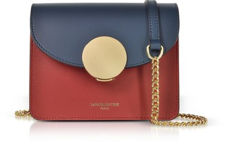 Le Parmentier New Ondina Mini Color Block Shoulder Bag