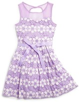 Blush by Us Angels Girls' Daisy Lace Dress - Sizes 7-16