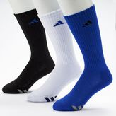 adidas Men's 3-Pack Climalite Crew Performance Socks