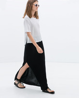 Zara Skirt With Slit