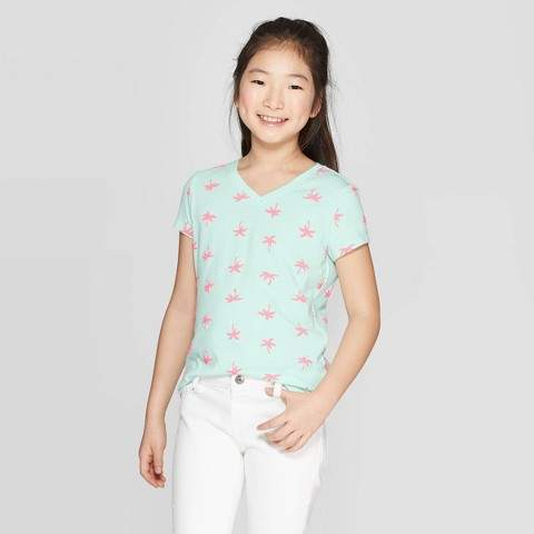 5ed00f71cf0a Girles Cat Shirt - ShopStyle