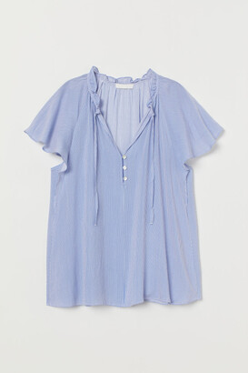 H&M Blouse with butterfly sleeves