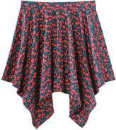 Joe Fresh Kid Girls' Handkerchief Skirt, JF Midnight Blue (Size S)