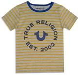 True Religion Boys' Striped Logo Tee - Big Kid