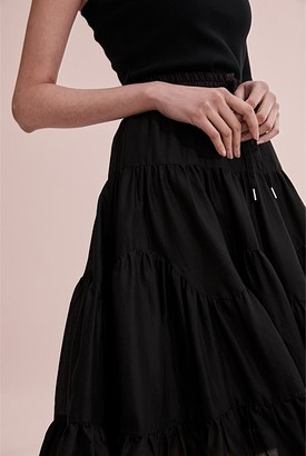 Country Road Fashion Ruffle Skirt