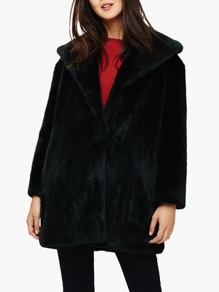 Phase Eight Beckie Faux Fur Coat