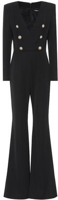 Balmain Wool jumpsuit