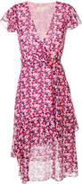 MICHAEL Michael Kors floral-print wrap midi dress