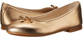 Dolce & Gabbana Metallic Ballerina (Little Kid/Big Kid)