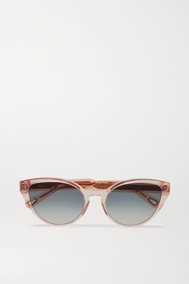 Chloé Willow Cat-eye Acetate Sunglasses - Pink
