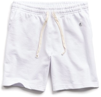 Todd Snyder + Champion Lightweight Warm Up Short in White