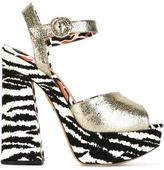 Charlotte Olympia 'Wild at heart' sandals - women - Leather - 39