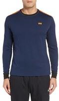 Helly Hansen Men's 'Active Flow' Base Layer Long Sleeve T-Shirt