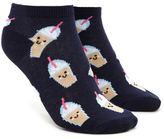 Forever 21 Milkshake Print Ankle Socks