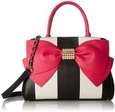 Betsey Johnson Pearl of a Girl Bow Satchel