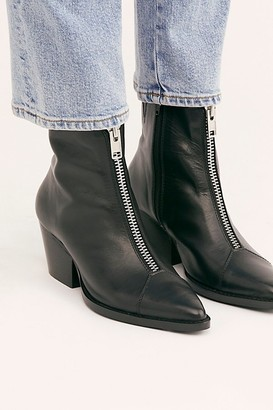 Jeffrey Campbell Landyn Zip Front Boots