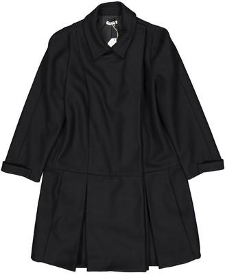 Miu Miu Black Wool Coat for Women