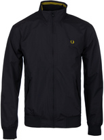 Fred Perry Brentham Black Rip-stop Jacket