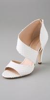 Genevieve Asymmetrical Zip Sandals