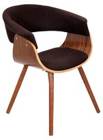 Lumisource Vintage Mod Dining Chair Wood/Brown