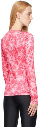Saks Potts Pink Rose Saya Long Sleeve T-Shirt