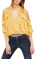 Free People Women's Little Bit Of Love Top