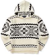 Ralph Lauren Wool-Blend Hooded Sweater