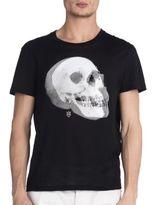 Alexander McQueen Profile Skull Tee