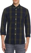 Saturdays NYC Crosby Black Watch Plaid Slim Fit Button-Down Shirt