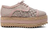Zimmermann Weave Platform Sneakers