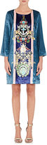 Mary Katrantzou WOMEN'S ANCHOR- & GEM-CREATURE-PRINT SHIFT DRESS