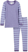 Coccoli Striped Sleeve Pajamas (Toddler & Little Kids)