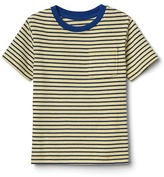 Gap Stripe short sleeve pocket tee