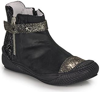 Ikks AMANDA girls's Mid Boots in Black