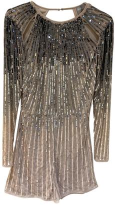 ASOS Metallic Polyester Jumpsuits