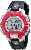 Timex Women's T5K8119J Ironman Rugged 30 Digital Display Quartz Black and Pink Watch