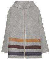 Loro Piana Harvie Pile Striped Cashmere Jacket