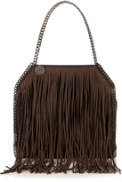 Stella McCartney Falabella fringed shoulder bag