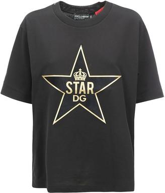 Dolce & Gabbana Star Print T-Shirt