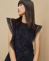 Ted Baker Ruffle lace top